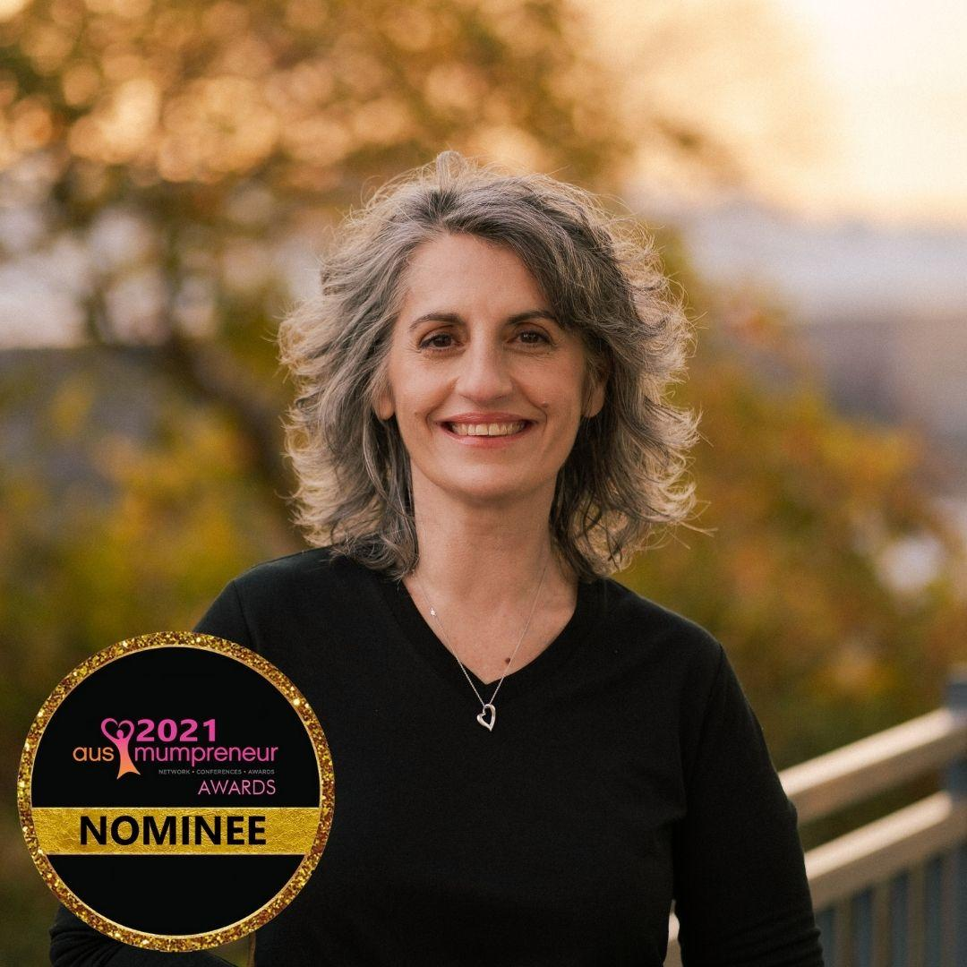 Jeannie has been nominated for the AusMumpreneur Awards!